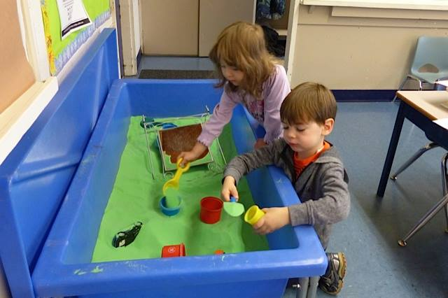Sand Table Play 1